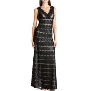 🖤 Black & Nude Floor Length Formal Gown 🖤